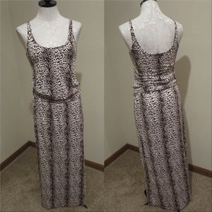 Tart Collections Animal Print Maxi Dress ruched